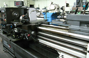 Clausing Colchester 13 X 50 Manual Lathe W 8 Chuck 5c Collet Closer