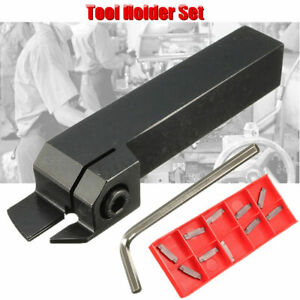 Mgehr1616 2 External Grooving Lathe Cutter Boring Bar Mgmn200 g Pc9030 Inserts
