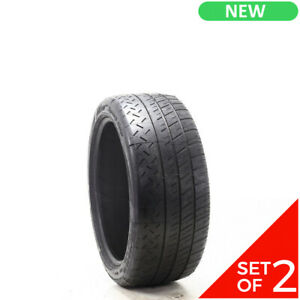 Set Of 2 New 235 40zr18 Michelin Pilot Sport Cup 91y 7 32