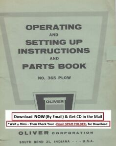New Holland Model 365 Operator Service Parts Manual