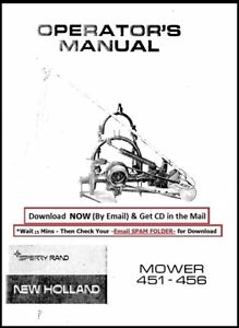 New Holland Model 451 Sickle Mower Owner s Manual
