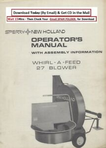 New Holland Whirl A Feed 27 Blower Operator s Manual