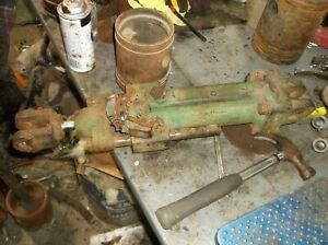 John Deere Tractor Plow Disk Implement Hydraulic Lift Cylinder As Is W stop Pin