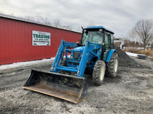 2017 Ls U5030c 4x4 Compact Tractor Loader Backhoe W Cab Only 500 Hours