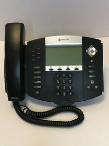 Polycom Soundpoint Ip 650 Sip 2201 12630 001 With Handset Stand