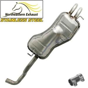 Exhaust Muffler Compatible With Vw 1998 2010 Beetle 1999 2006 Golf