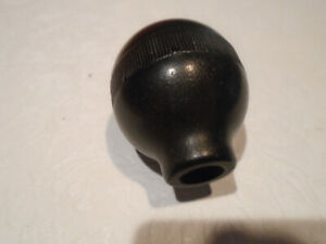 Vintage Bahelite Black Colored Shift Knob