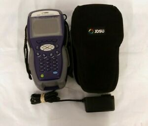 Jdsu Dsam 3300 Xt Cable signal Meter Tester W charger Locked W id Parts repair