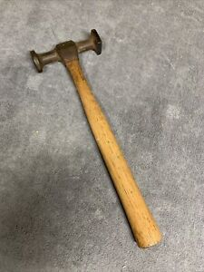Vintage Blue Point Auto Body Work Hammer Round And Square Heads