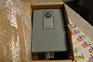 Allen Bradley 700 hn120 Nema1 Steel Enclosure Motor Starter Box Other