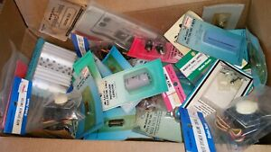 Archer Radioshack Mixed Lot Of Electronic Components Nos 120 Pieces