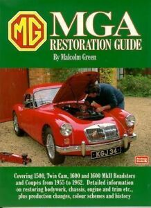 Mga Restoration Guide Book 1955 1962 1500 1600 Mkii Roadster Coupe Twin Cam