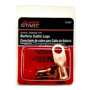 01407 Super Start Copper Crimping Type Battery Cable Lugs 083996014077