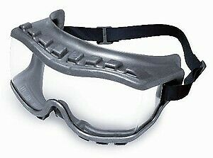 Uvex Strategy Goggles S3810 With Clear Anti fog Lens And Gray Frame Ind Vent