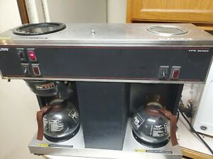 Bunn Heavy Duty Pour Over Commercial Coffee Brewer W 3 Warmers 2 Carafe