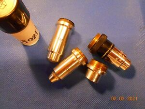Microscope Objective Carl Zeiss Lot 4 Pieces
