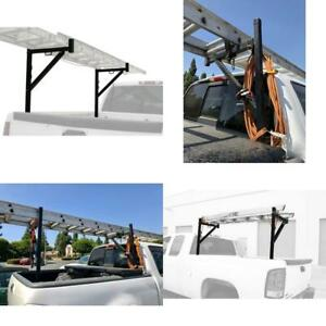Truck Ladder Rack Adjustable Extension Pickup Bed Carrier For Lumber Pipe Kayak