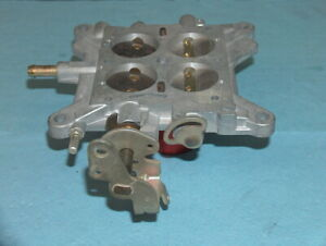 Holley 600 Cfm Carburetor Vacuum Secondary Dodge Mopar Base Plate 12r 55068