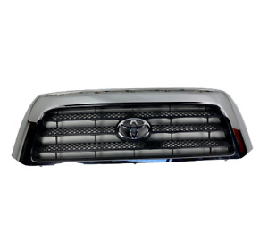 Oem 2007 2008 2009 Toyota Tundra Sr5 Or Base Front Grille Chrome 53100 0c160