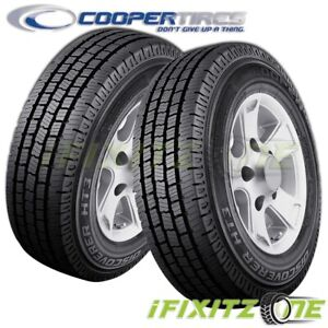 2 Cooper Discoverer Ht3 Lt245 75r16 E 10 All Season Commercial Truck Van Tires