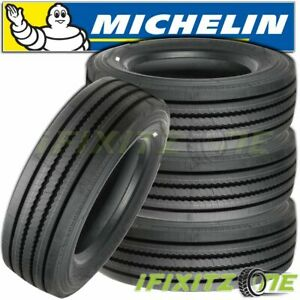 4 Michelin Pilot Xze 245 70r19 5 H All Position Steer Trailer Bus Truck Tires