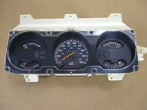 90 93 Dodge Ramcharger Or W d Series Pickup Electronic Gauge Cluster Speedometer