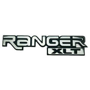1996 2005 Ford Ranger Xlt Emblem Logo Letters Badge Sign Body Side Fender Chrome