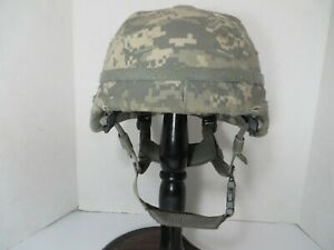 US Army ACH MICH Helmet MSA Gallet TC 2000 with ACU cover small $199.95
