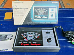 Sears Made In Usa 2163 Automotive Diagnostic Engine Analyzer Complete Like New