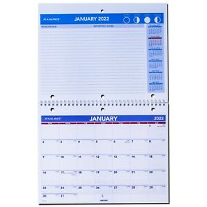 2022 At a glance Pm170 28 Monthly Desk wall Calendar 11 X 8 1 2