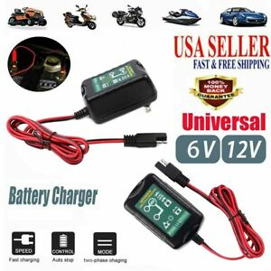 2 Pcs For Deltran Battery 12v Automatic Battery Charger Free Shipping