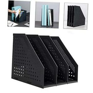 Collapsible Magazine File Holder desk Organizer For Office Organization And Sto