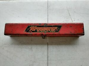 Snap on Torqometer Metal Wrench Case Only
