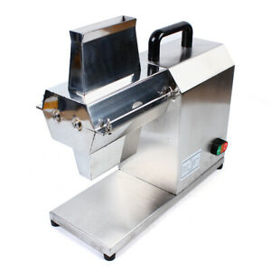 Commercial Electric Meat Tenderizer Steak Machine Stainless Steel 450w 110v New