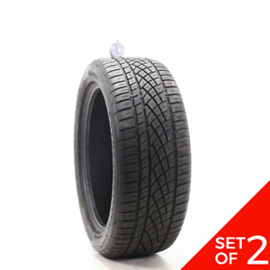 Set Of 2 Used 225 50zr18 Continental Extremecontact Dws06 95w 6 6 5 32