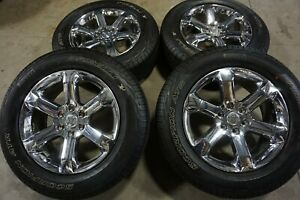 20 2021 Ford F150 Chrome Factory Oem Wheels Rims Tires Expedition 95030