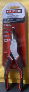 New 6 6 inch Bent Long Nose Pliers 71644 With Trugrip 11x Cut Force Brand New