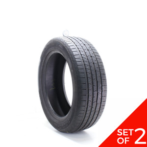 Set Of 2 Used 235 55r19 Continental Crosscontact Lx Sport Vol 105h 7 32