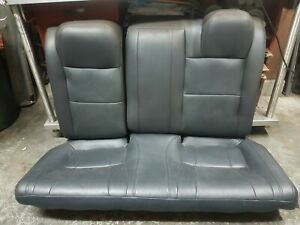 01 05 Honda Civic Rear Leather Seat 2 Door Coupe Only Es1 es2 em1 em2 si domani