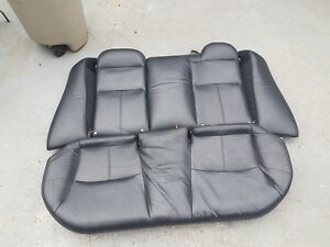 01 05 Honda Civic Rear Leather Seat Acura El Es1 es2 em1 em2 si domani