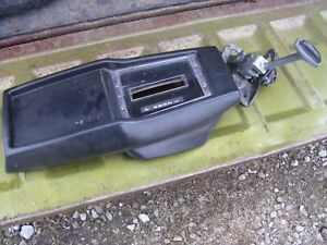 Oem 68 69 70 71 72 Nova Automatic Console Floor Shifter And Console