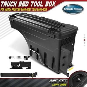 Driver Side Truck Bed Storage Box Toolbox For Nissan Frontier 2005 2021 Titan