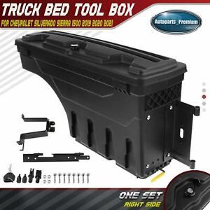 Right Side Truck Bed Storage Box Toolbox For Silverado 1500 Sierra 1500 19 2021