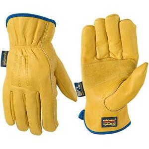 Wells Lamont 1168xl Slip on Hydrahyde Leather Work Gloves Water resistant Xl