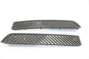 2005 Chrysler Crossfire Zh Coupe 171 Left Right Front Lower Bumper Grille Trim