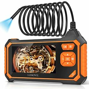 Industrial Endoscope Borescope Waterproof Snake Inspection Camera Sewer Cable Se