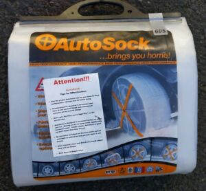 Autosock Snow Socks 695 Traction Wheel Covers For Snow Ice Easy To Use