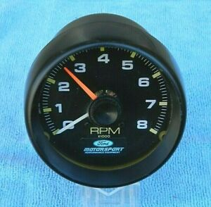 1990s Vintage Ford Motorsport External Tachometer as is