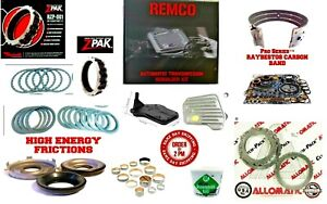 Gm 4l60e Transmission Powerpack Rebuild Kit 1993 2003 Stage 5 With 3 4 Z Pack
