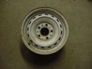73 87 Chevy Gmc Truck Suv 15x 6 5rally Wheel 5 Lug Steel Rim Oem